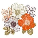 купить Виниловая Наклейка Bouquet  цена, отзывы