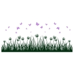 купить Виниловая Наклейка Grass  цена, отзывы