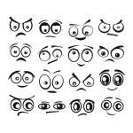 купить Виниловый Стикер Funny Eyes цена, отзывы