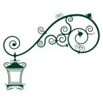 купить Виниловый Стикер Lamp цена, отзывы