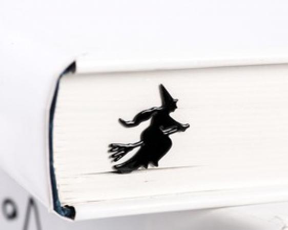 купить Закладка Ведьма на метле цена, отзывы