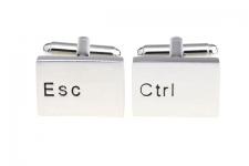 купить Запонки Ctrl & Esc цена, отзывы