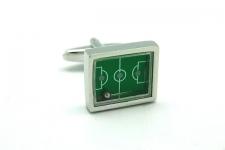 купить Запонки Футбольное поле зеленое цена, отзывы