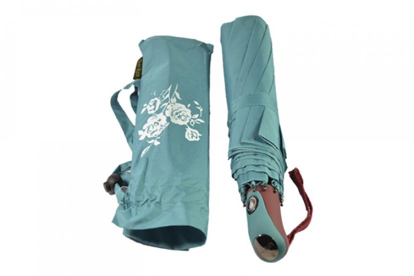 купить Зонт  меняющий цвет бирюзовый цена, отзывы