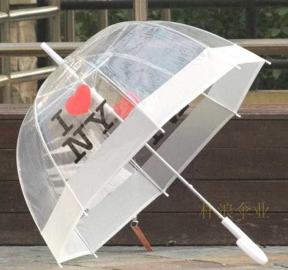 купить Зонт прозрачный I Love New York цена, отзывы
