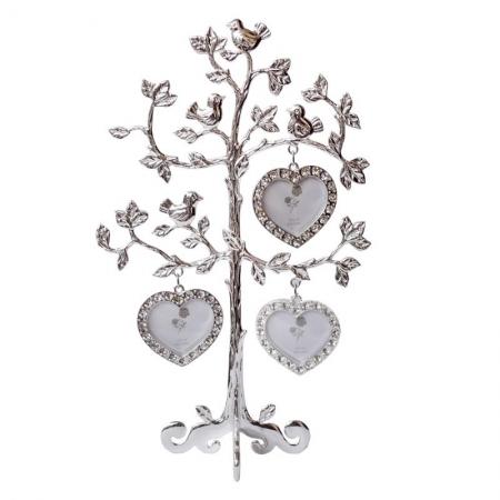 купить  Семейное дерево на 3 фотографии Воробушки цена, отзывы