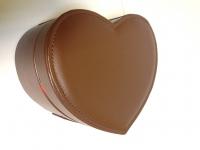 фото 3174  Шкатулка Кожанная сердце цена, отзывы