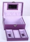 фото 6883  Шкатулка для украшений фиолетовая осень цена, отзывы