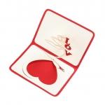 фото 10267  Объемная открытка Сердца love цена, отзывы