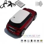 фото 1509  Колонка - Машинка Mini Cooper (колонка, плеер mp3, радио) black цена, отзывы