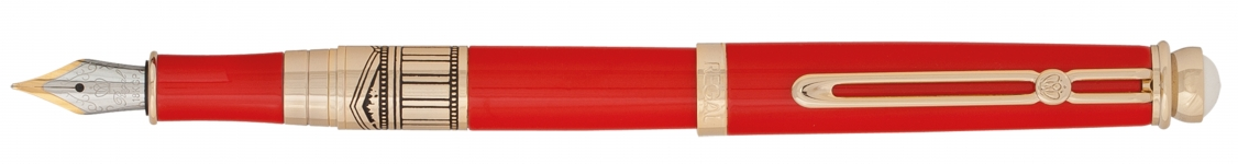 фото 10317  Набор ручек в бархатном футляре Арес красный цена, отзывы