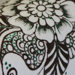 фото 8927  Кот Мартовский с росписью цветы цена, отзывы