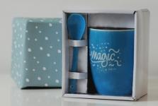 фото 6577  Чашка+ложка Magic цена, отзывы