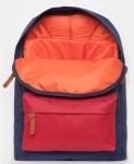 фото 8096  Рюкзак GiN Bronx синий с красным карманом цена, отзывы
