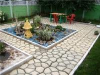 фото 1460  Форма пластиковые для садовых дорожек  цена, отзывы