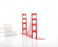 фото 10081  Держатель для книг Мост Золотые ворота цена, отзывы
