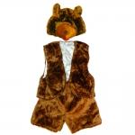 фото 9719  Детский костюм меховой Медведь цена, отзывы