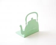 фото 9867  Держатель для книг Чайник мятный цена, отзывы