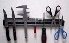 купить Магнитная рейка для ножей, инструментов 33см цена, отзывы