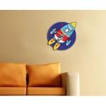 фото 5724  Детские настенные часы Rocket цена, отзывы