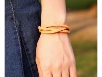 фото 9444  Антический кожаный браслет Farie цена, отзывы