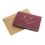фото 10219  Объемная открытка Признание в любви бордо цена, отзывы