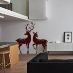 фото 5766  Интерьерная Наклейка Deer цена, отзывы