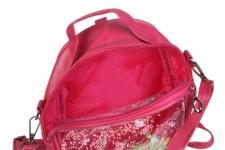 фото 26346  Детский прозрачный рюкзак Котик (Малиновый) цена, отзывы