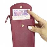 фото 26155  Кошелёк женский, мини-сумочка на плечо Baellerry 3 в 1  (бордовый) цена, отзывы