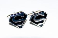 фото 6829  Запонки Superman black цена, отзывы