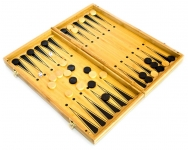 фото 4014  Нарды+шахматы из бамбука 29см доска цена, отзывы