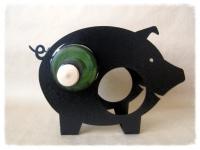 фото 3451  Бутылкодержатель Свинка цена, отзывы