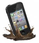 фото 1215  Абсолютно водонепроницаемый чехол LifeProof iPhone Case для iPhone 4, 4S Black цена, отзывы
