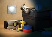 фото 2731  Светодиодная лампа Mighty Light c датчиком движения цена, отзывы