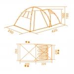 фото 7217  Палатка походная 4-х местная цена, отзывы
