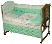 фото 9296  Набор постельного белья в детскую кроватку цена, отзывы