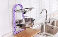фото 25777  Подставка для сковородок, крышек, тарелок, кастрюль (Сиреневый) цена, отзывы