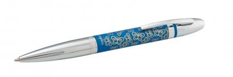 фото 10419  Подарочный набор ручка и держатель для сумки Лета синий цена, отзывы
