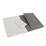 фото 6093  3 блокнота Moleskine Cahier больших серых цена, отзывы