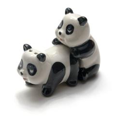 купить Солонка с перечницой панды цена, отзывы