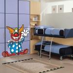 фото 5842  Наклейка Детская Clown цена, отзывы