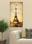 фото 2626  Часы на холсте Париж 25х50 цена, отзывы