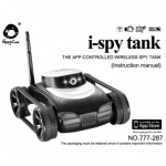 фото 1123  Робот i-Spy Tank (Танк-шпион) с видеокамерой + фото цена, отзывы