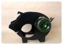 фото 3450  Бутылкодержатель Свинка цена, отзывы