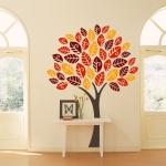 фото 5746  Виниловая Наклейка Autumn Tree цена, отзывы