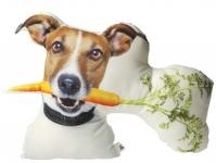 фото 3637  Подушка Пёс с морковкой цена, отзывы