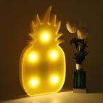 фото 24919  Светильник ночник 3D Ананас цена, отзывы