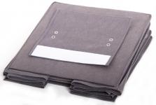 фото 24504  Подвесной Органайзер для вещей на 4 секции (Серый) цена, отзывы