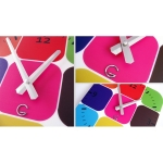 фото 5685  Декоративные настенные часы Palette цена, отзывы