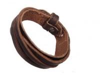фото 9218  Антический кожаный браслет Ким цена, отзывы